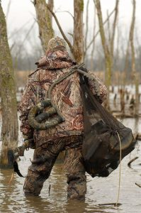 Some refuge areas allow boaters, but on many it's all walking. My best success came from backpacking a bag of decoys to the far reaches of a refuge, where the majority of other hunters were not willing to go.